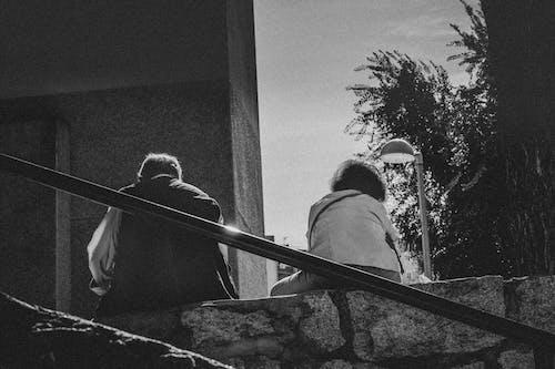 Foto profissional grátis de amor, casal, cidade, cônjuges