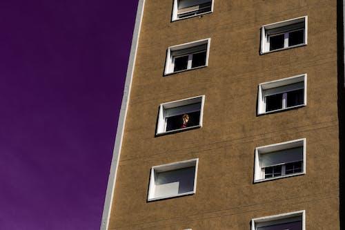 cam, gökyüzü, Kadın, kule içeren Ücretsiz stok fotoğraf
