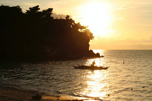 Ảnh lưu trữ miễn phí về biển, bờ biển, Châu Á, Hoàng hôn