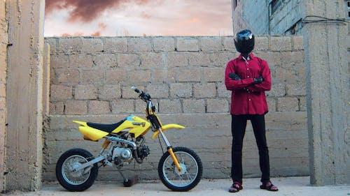 Безкоштовне стокове фото на тему «crf50, блакитне небо, велосипед»