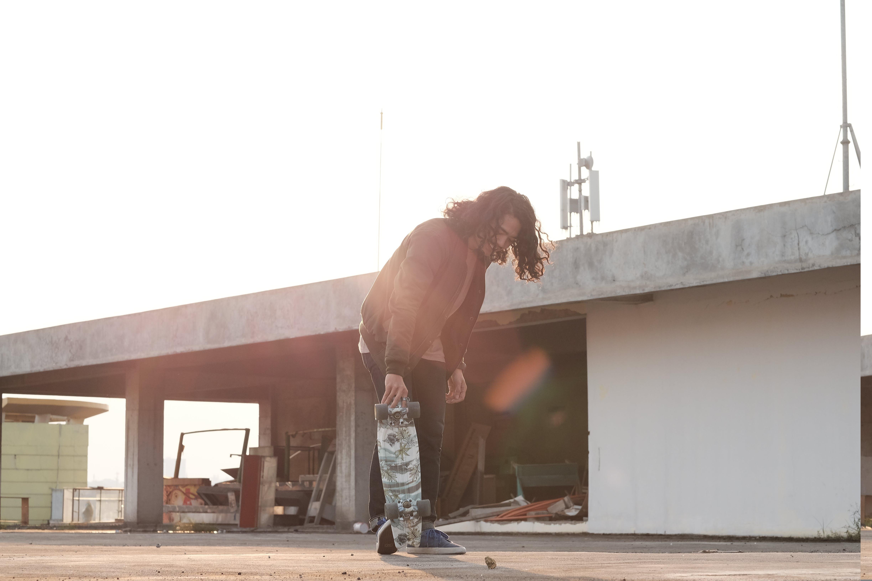 Man Doing Skateboard Exhibition