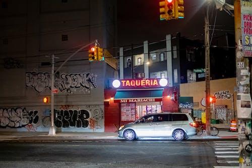Free stock photo of night, street