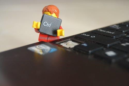 Free stock photo of background, HD wallpaper, keyboard, lego