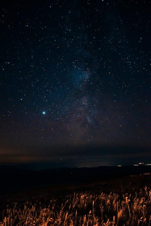 Δωρεάν στοκ φωτογραφιών με galaxy, απόγευμα, αστερισμός, αστρικός