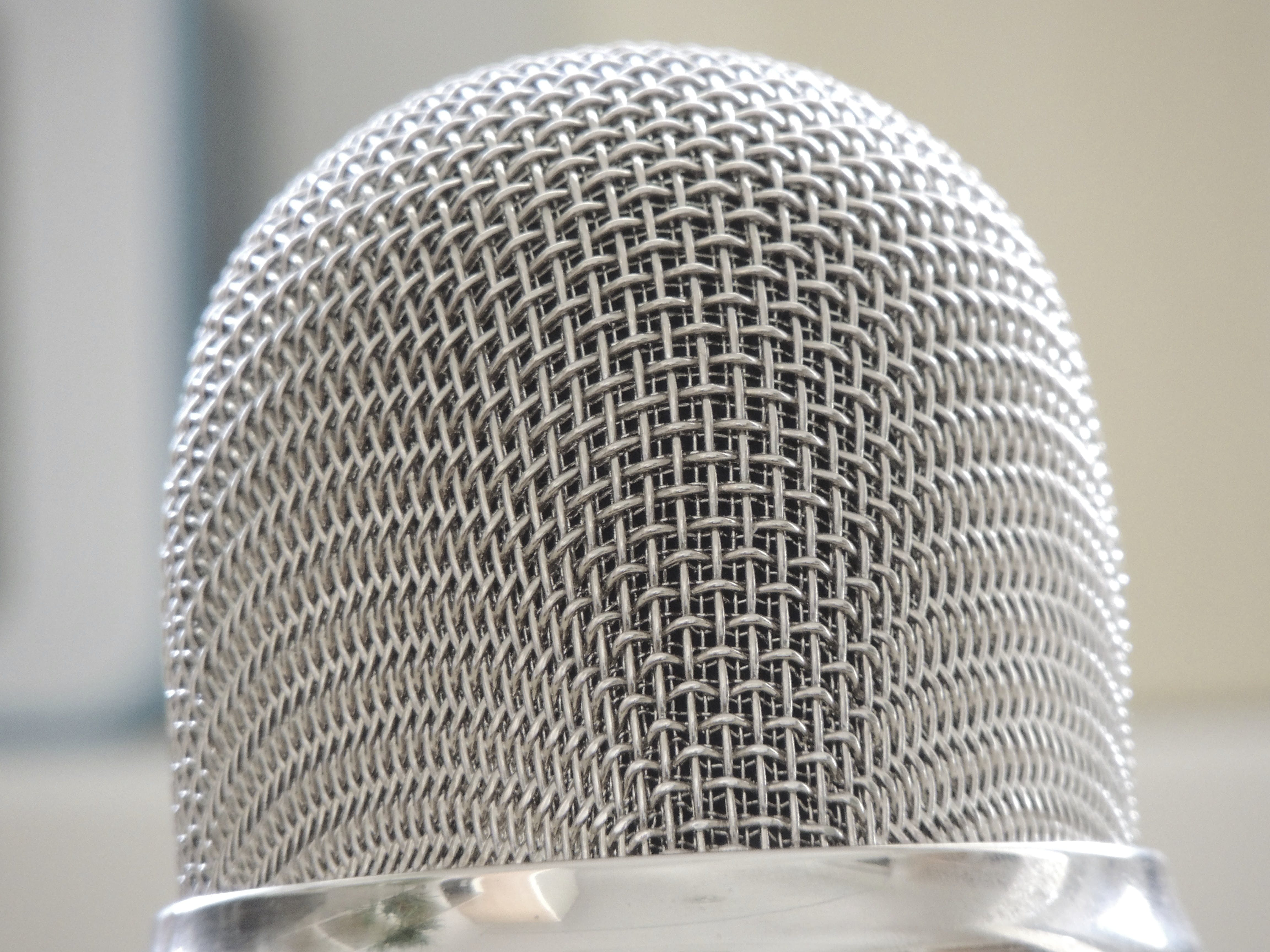 Stainless Steel Microphone