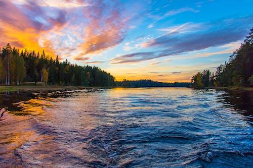 Gratis lagerfoto af bølger, HD-baggrund, himmel, idyllisk