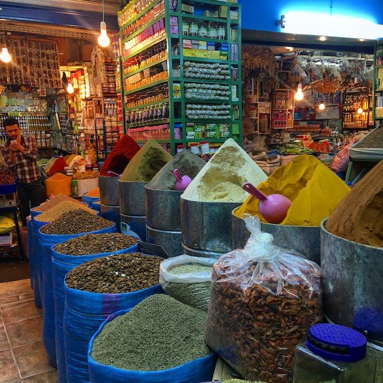 marocana, piață, souk