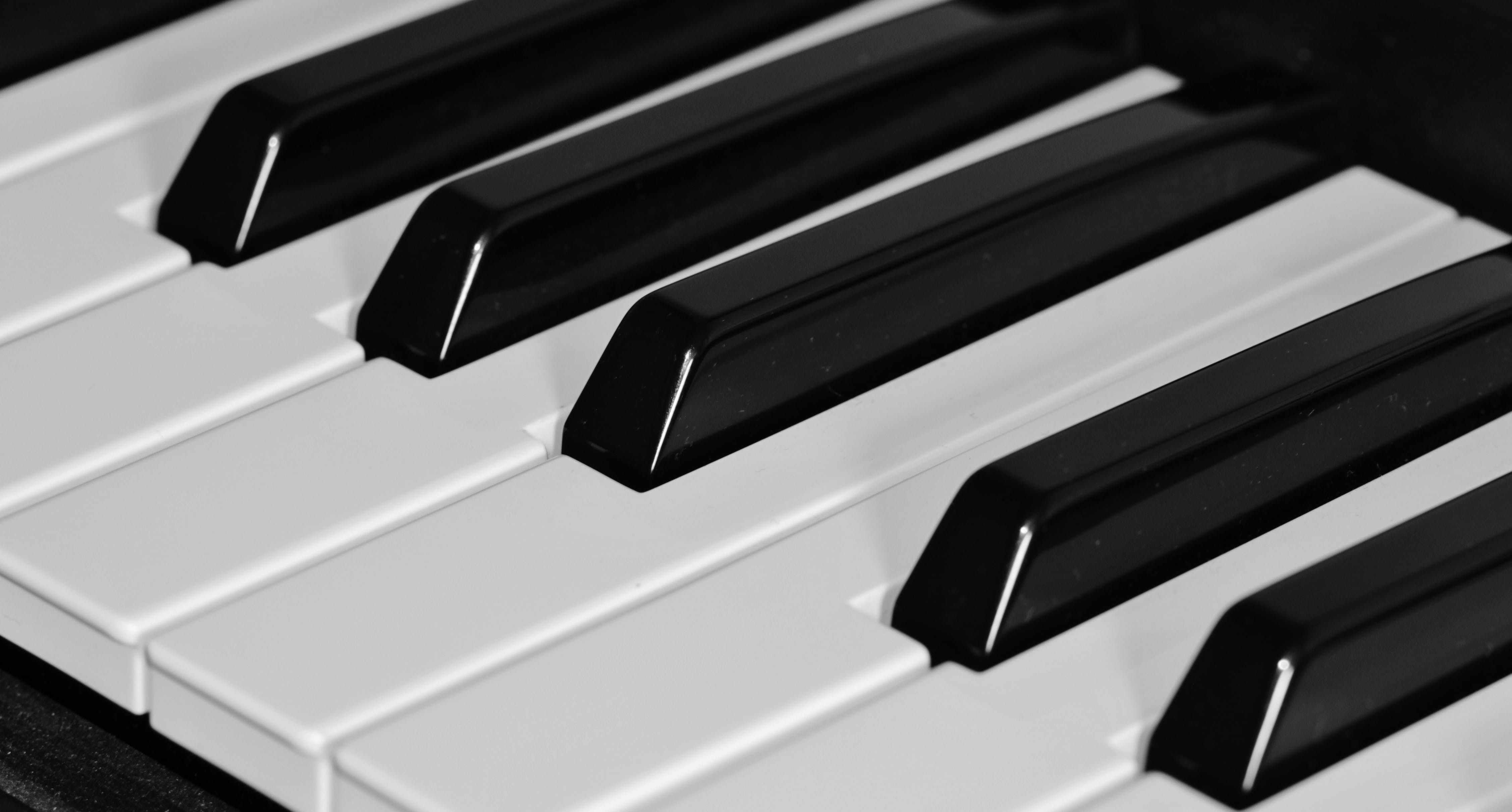 Gratis lagerfoto af close-up, instrument, klaver, musikinstrument