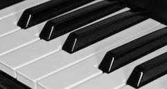 piano, keys, musical instrument