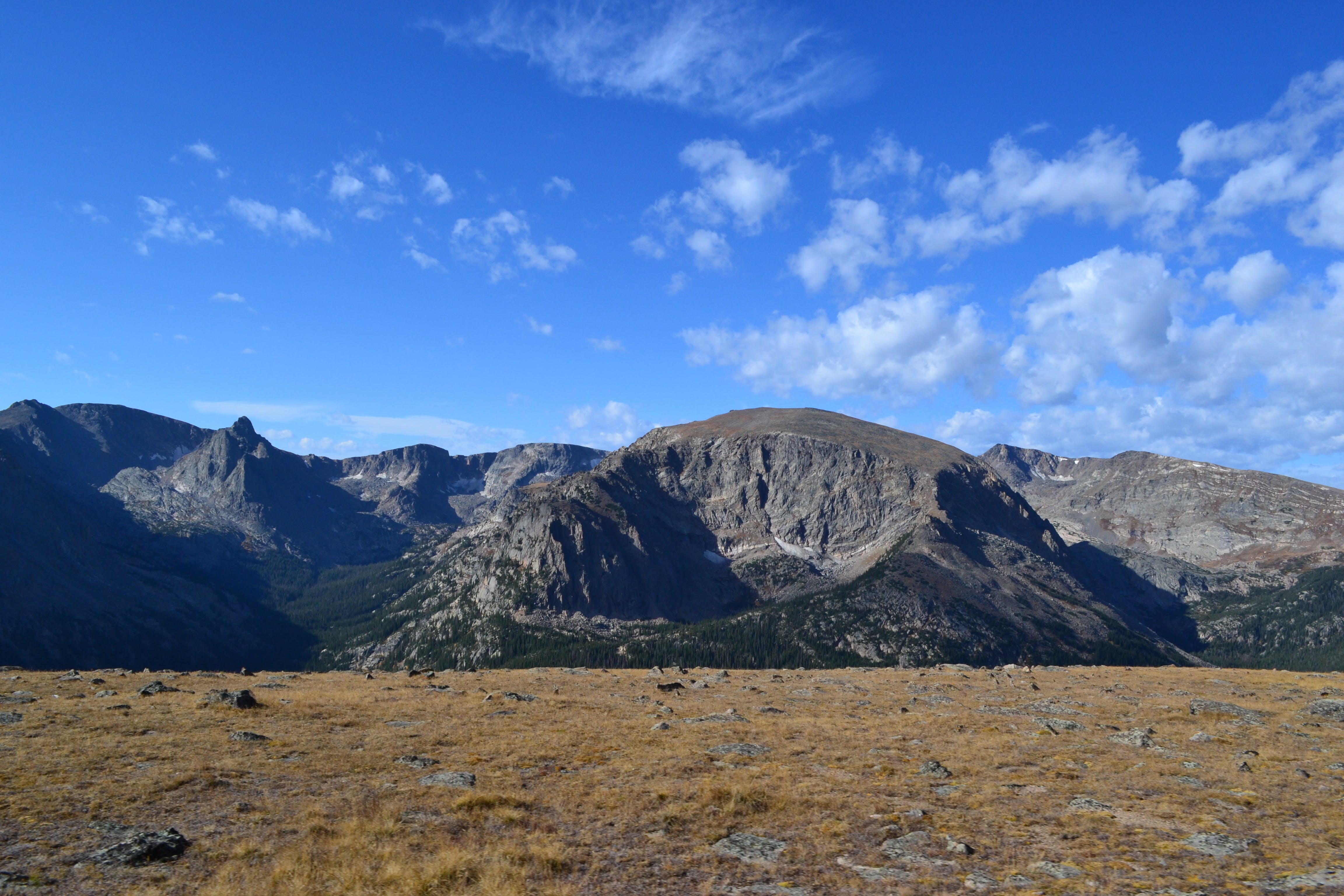 Free stock photo of mountains, field, blue sky, rocky mountains