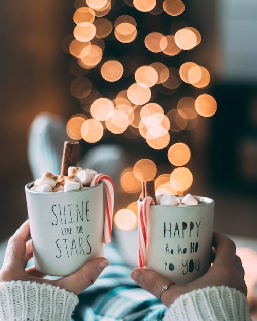 Gratis lagerfoto af bokeh, bokeh lys, cappuccino, chokolade