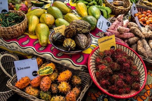 คลังภาพถ่ายฟรี ของ ชามผลไม้, น่ากิน, ผลไม้, มีสีสัน