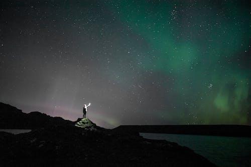 คลังภาพถ่ายฟรี ของ กล้องดูดาว, กล้องโทรทรรศน์, กลางคืน, กลุ่มดาว