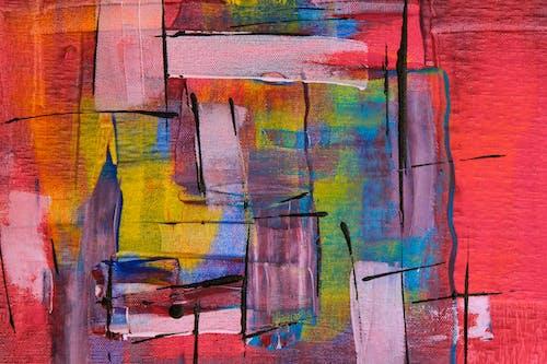 Kostenloses Stock Foto zu abbildung, abstrakt, abstraktes gemälde, acryl