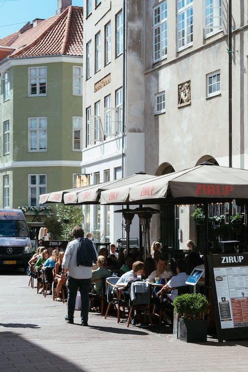 丹麥, 傳統, 咖啡店, 哥本哈根 的 免費圖庫相片