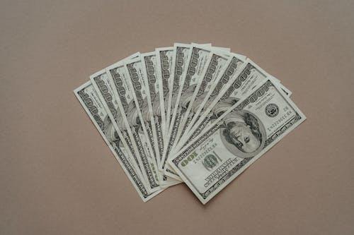 5, 금융, 달러의 무료 스톡 사진