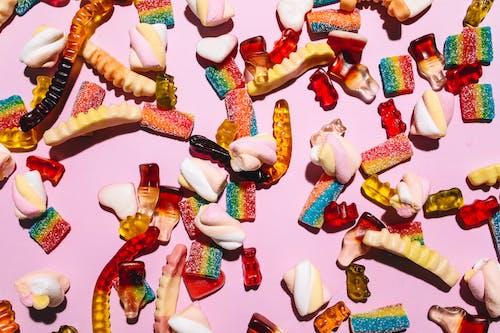 Základová fotografie zdarma na téma barva, čokoláda, cukr