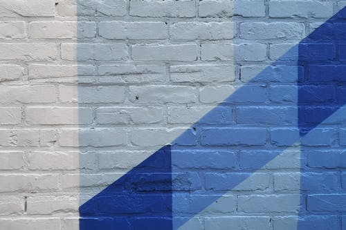 Free stock photo of blue, painted wall, wall