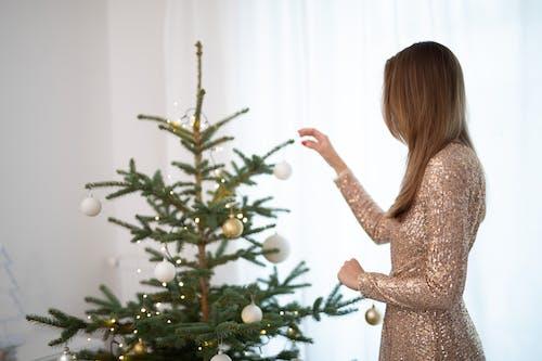 Бесплатное стоковое фото с висячий, декорации, женщина