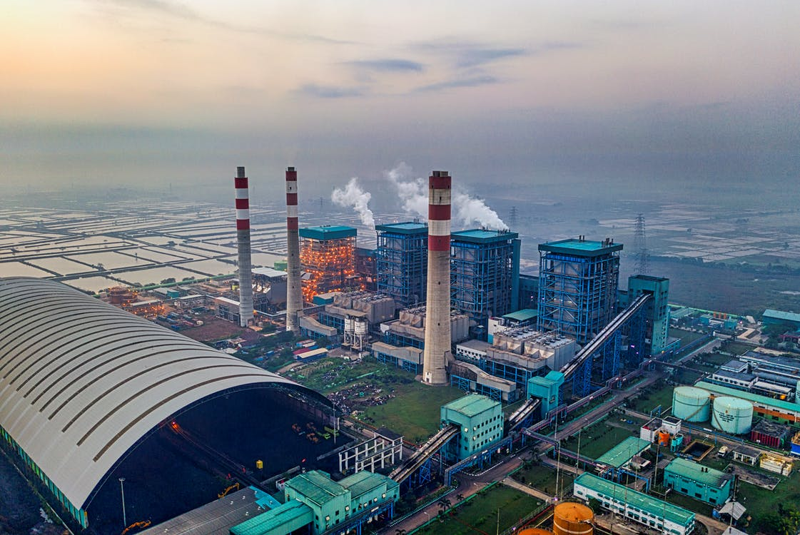 Aerial View Of The Biggest Sugar Factory in Asia