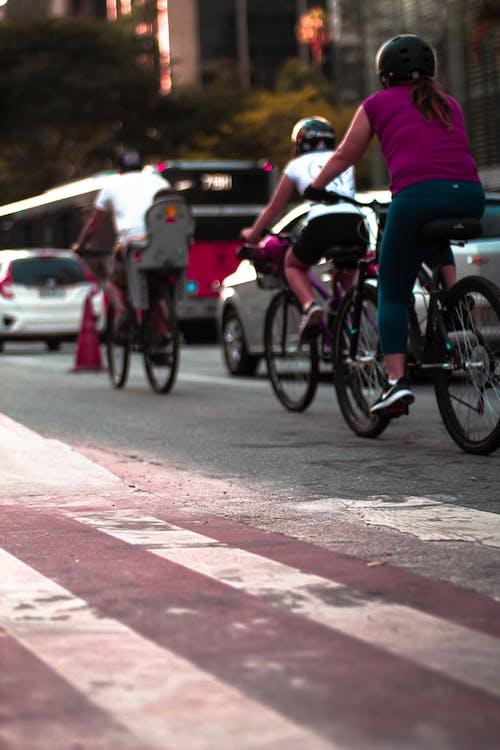 Fotos de stock gratuitas de avenida paulista, bici, ciclovia, paso de cebra