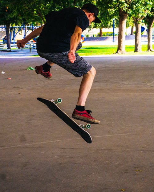 Free stock photo of skateboarding, vans