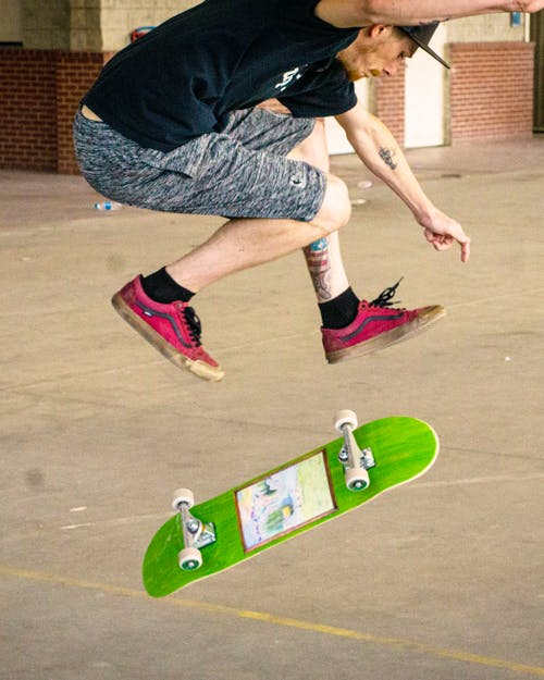 Free stock photo of skateboarding