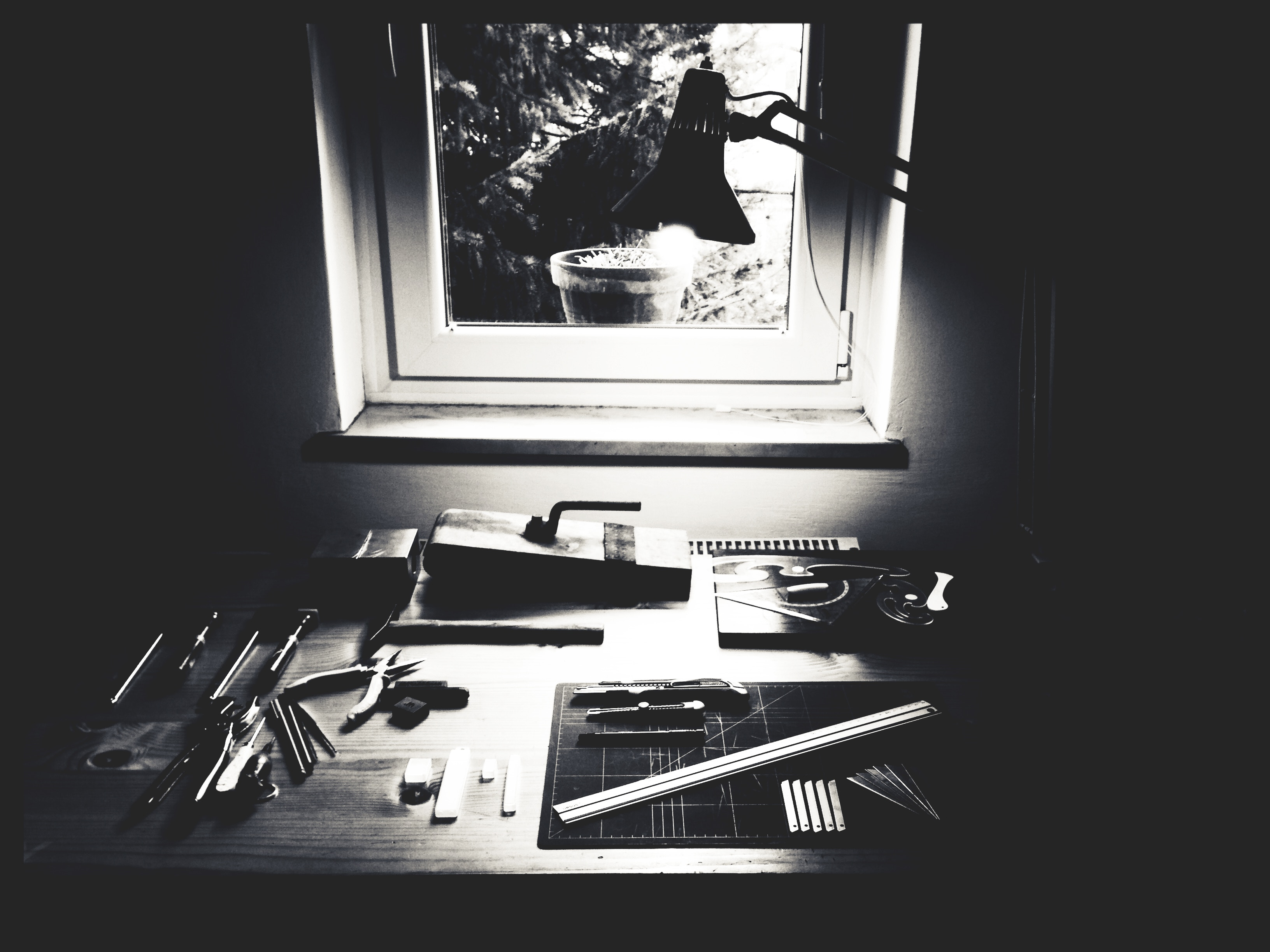 Free stock photo of wood, art, space, desk