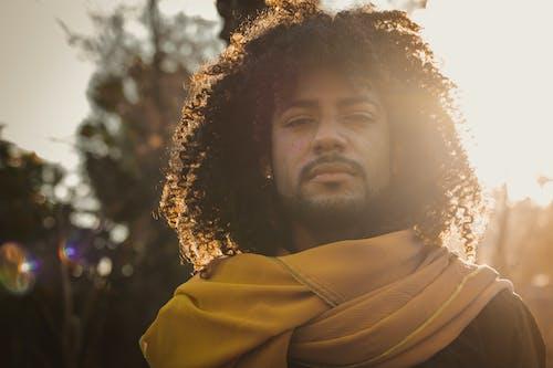 あごひげ, アフリカ系アメリカ人, アフロ, おとこの無料の写真素材
