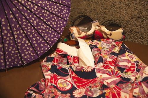 Traditional Japanese garment of geisha