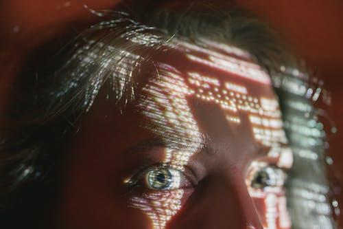 Close-Up Shot of a Woman's Eyes