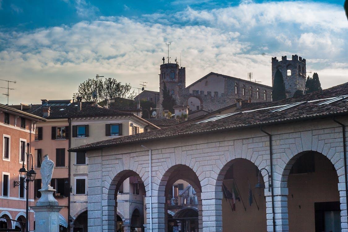 Kostnadsfri bild av byggnader, hustak, Italien