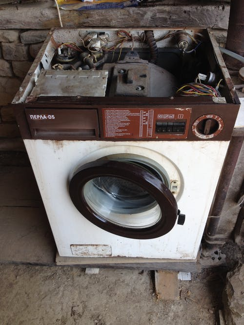 Free stock photo of The granny of washing machines