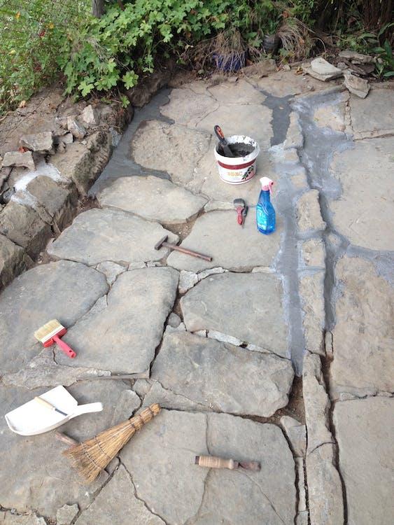 cement paving stones