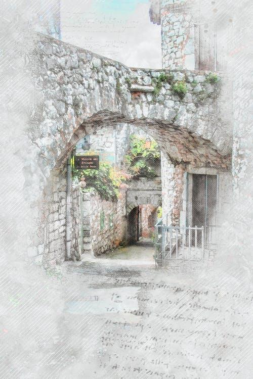 Free stock photo of balazuc, france