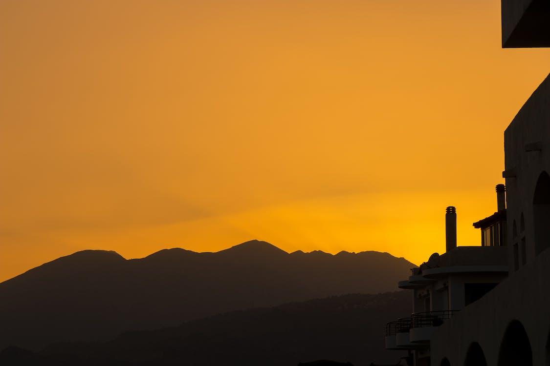 al aire libre, amanecer, bonito