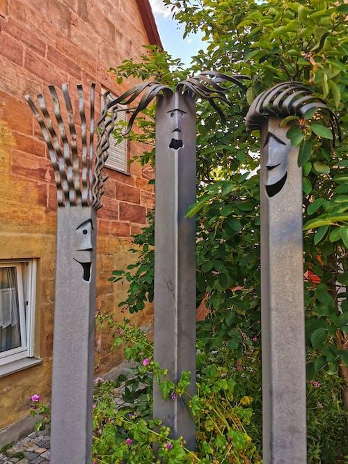 Free stock photo of metal art, metal sculpture, sculpture