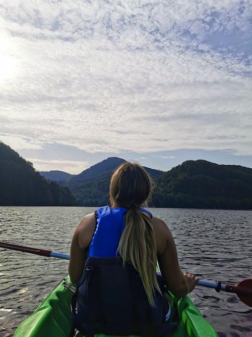 Free stock photo of baraj, kayak, kayaking