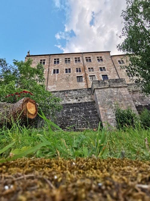 Foto stok gratis benteng cadolzburg, dinding batu, Kastil