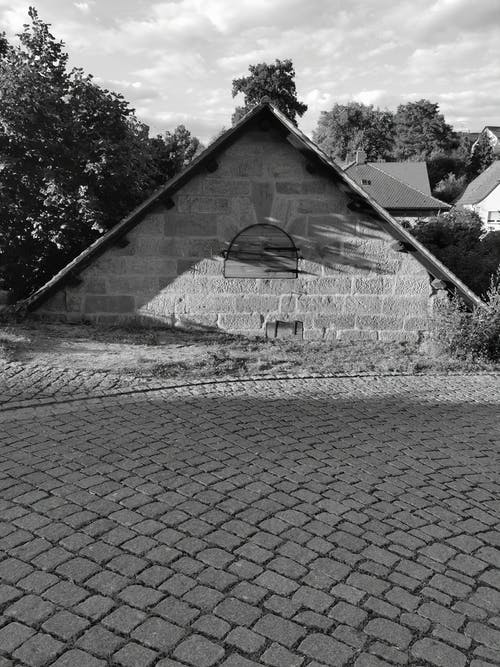 Free stock photo of black and white, cadolzburg, house in germany