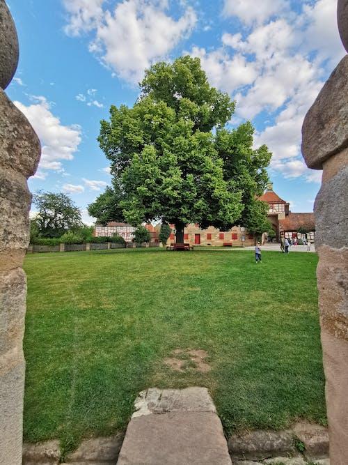 Foto stok gratis benteng cadolzburg, dinding batu, kastil jerman