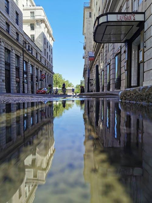 Free stock photo of central london, empty street, london