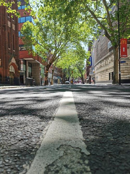 Free stock photo of central london, empty street, empty street in london