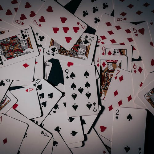 6 of Diamonds and 6 of Diamonds Playing Cards