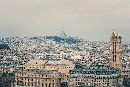 Free stock photo of city, sky, landmark, buildings