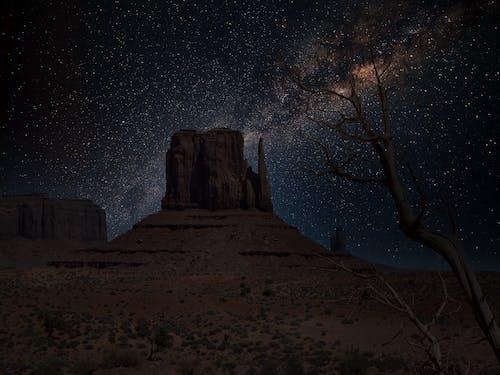 Immagine gratuita di astronomia, cielo notturno, deserto