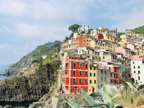 Δωρεάν στοκ φωτογραφιών με cinque terre, αρχιτεκτονική, βουνό