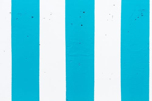 Background of vertical blue and white lines