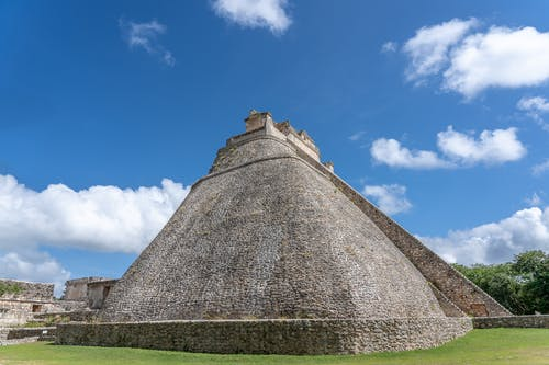 Brown Pyramid Under Blue Sky