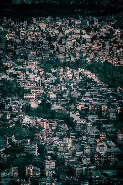 Ingyenes stockfotó drónfelvétel, épületek, felülről témában